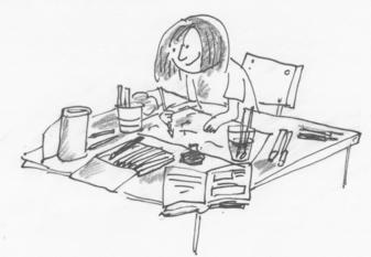 Illustreer je eigen boek
